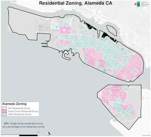 Zoning map of Alameda thumbnail