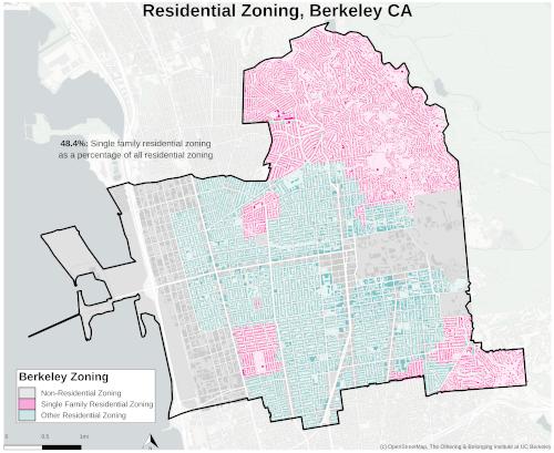 Zoning map of Berkeley