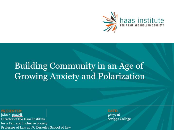 Building Communities Slide cover