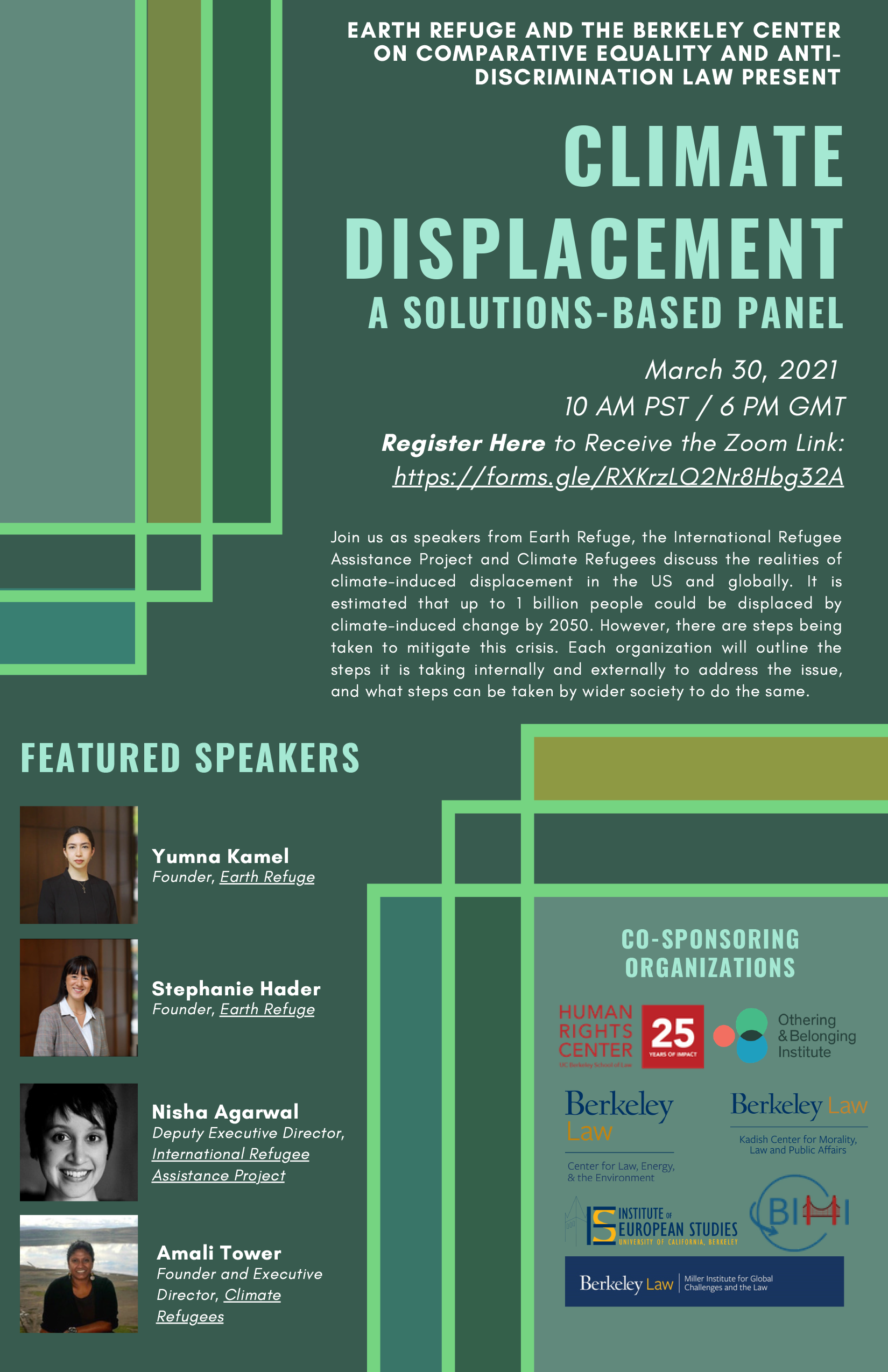 Climate Displacement: A Solutions-Based Panel