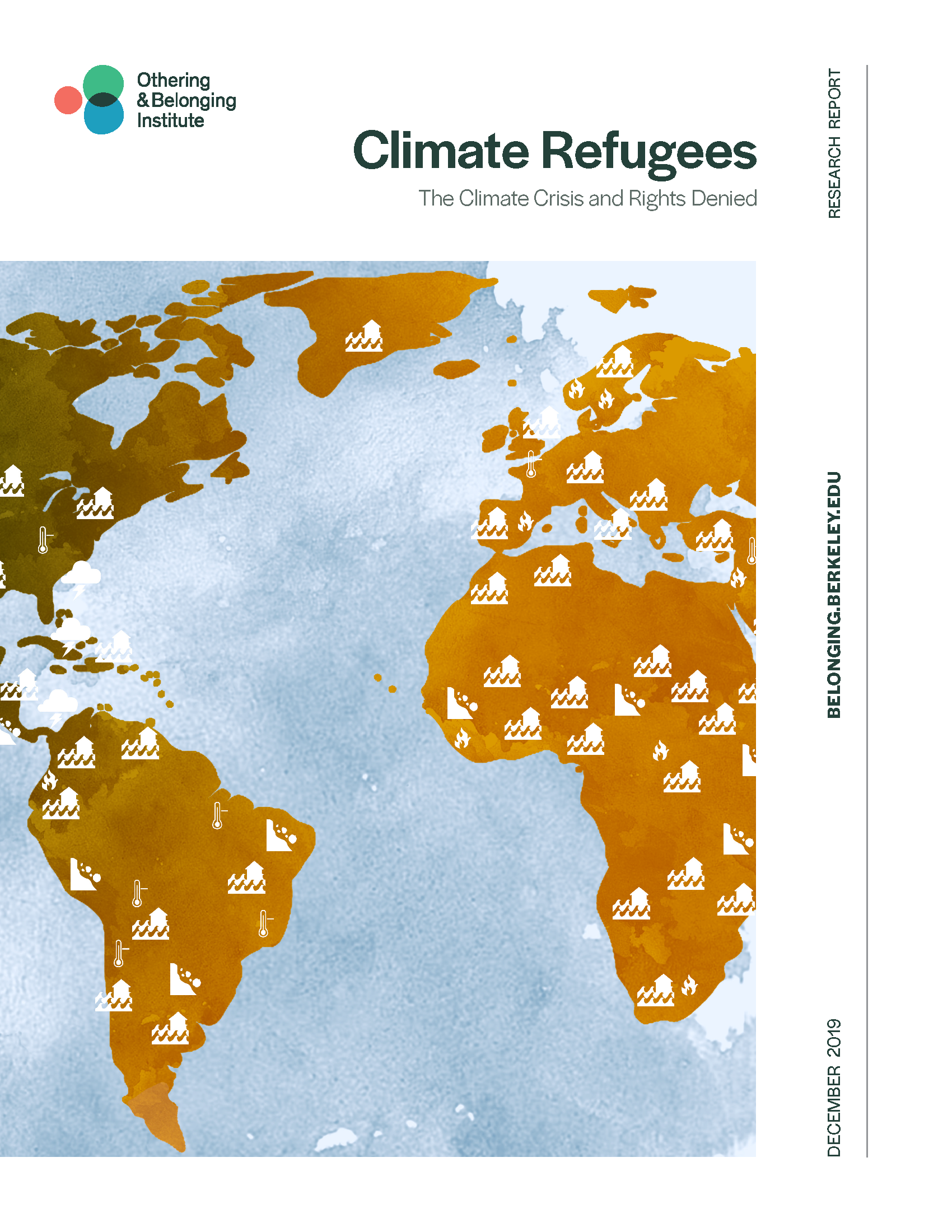 Cover of the Climate Refugees report