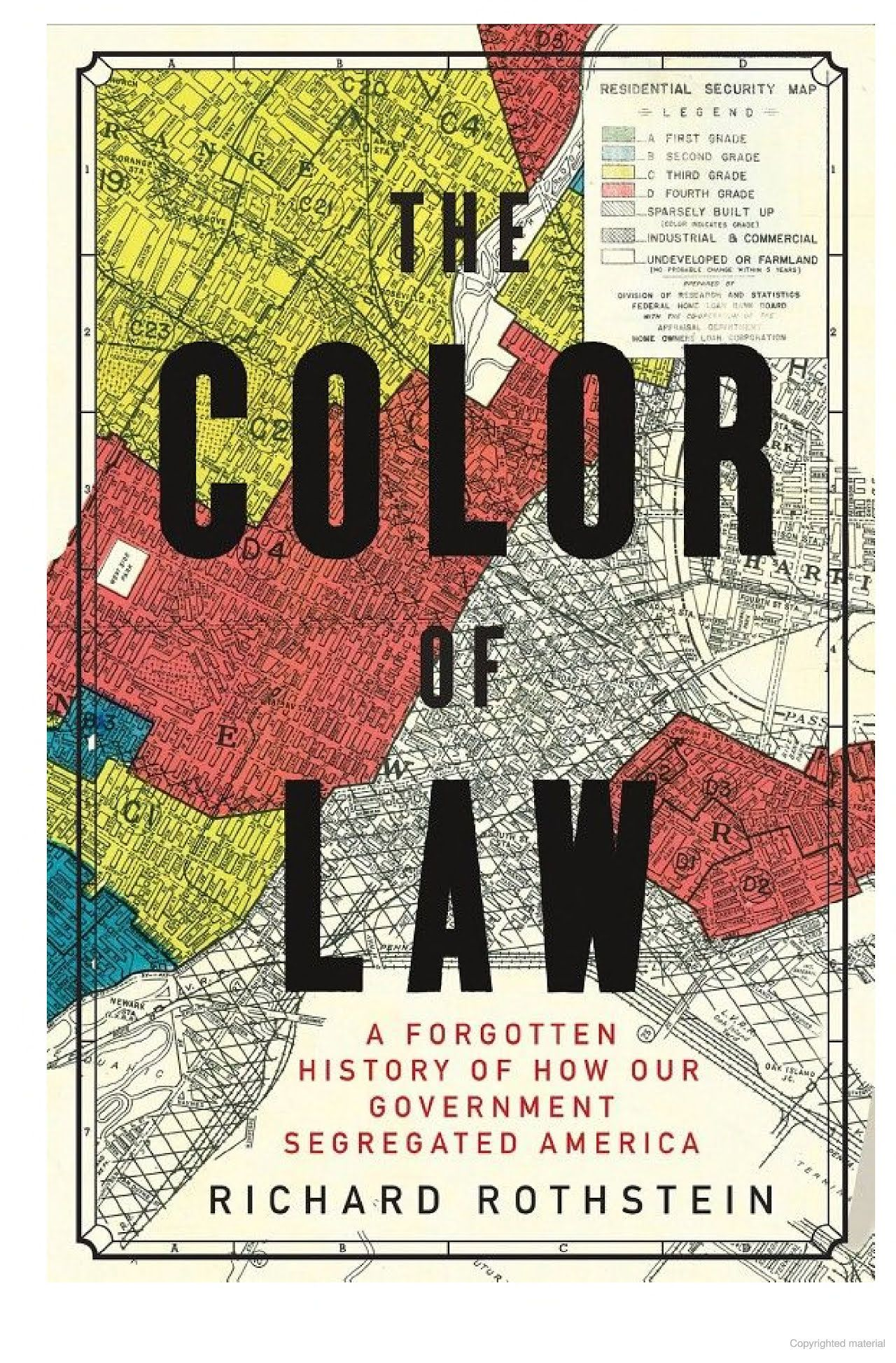 Cover of Richard Rothstein's 'The Color of Law'