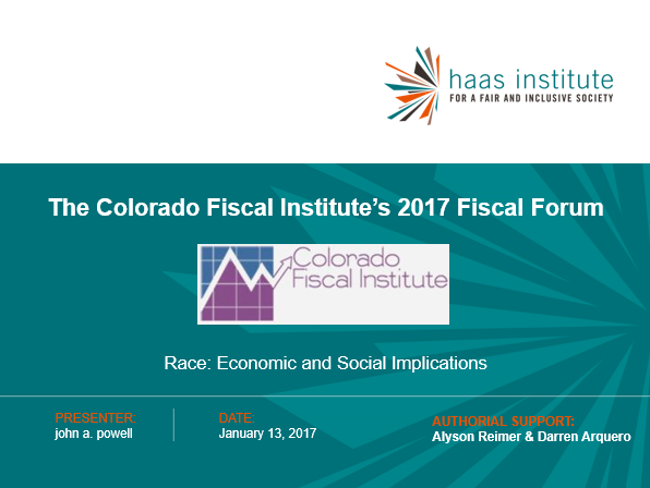 Colorado Fiscal 2017 cover