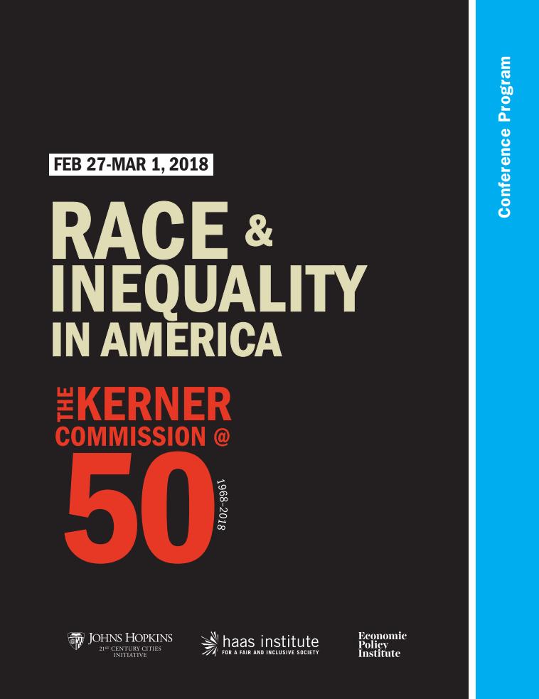 Kerner Conference Program cover