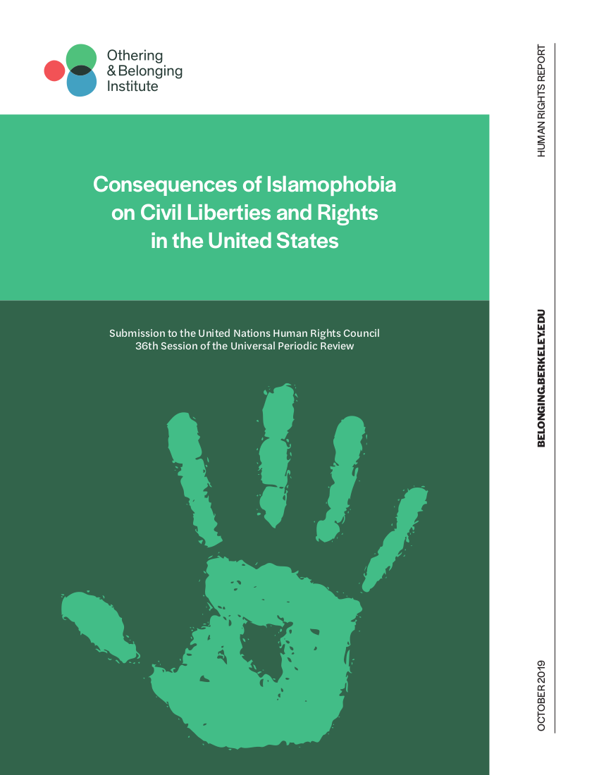 Cover image of the Civil Liberties and rights report