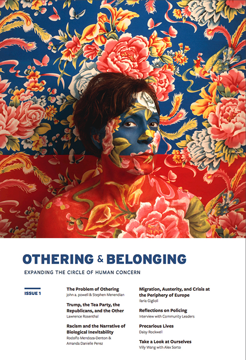 Cover of First Issue of the Othering & Belonging Journal