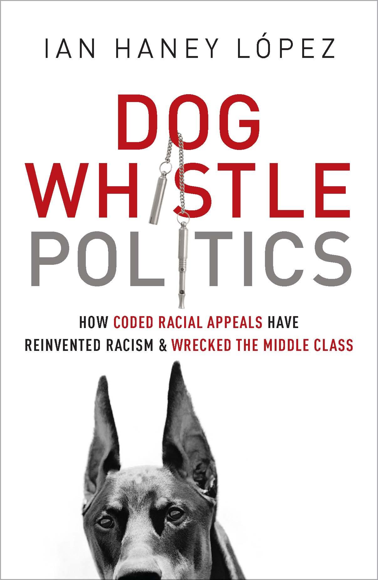Dog Whistle Politics book cover