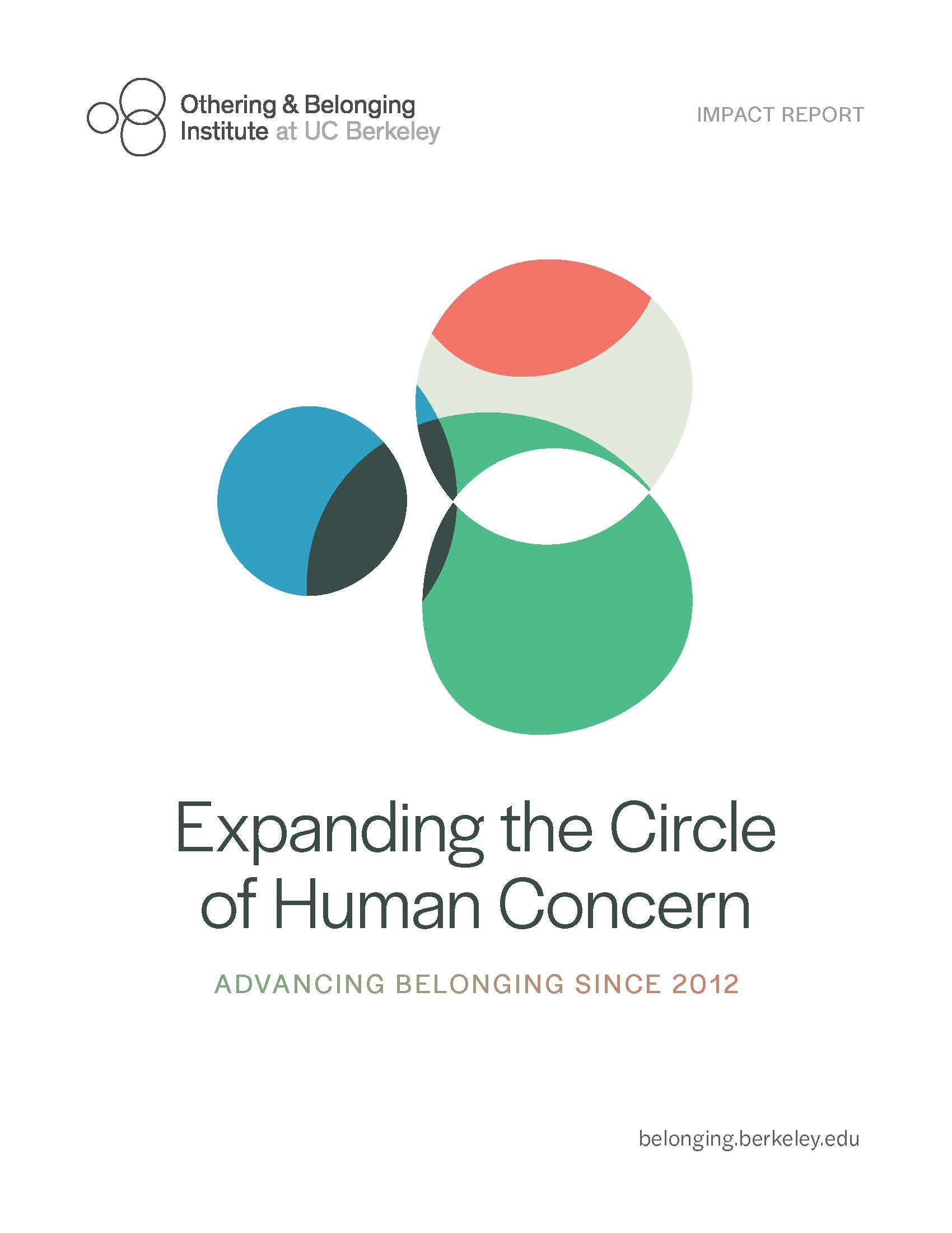 Cover of the 7 year impact report