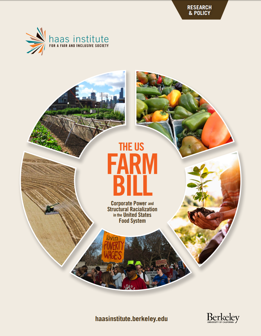 Cover of the Farm Bill report