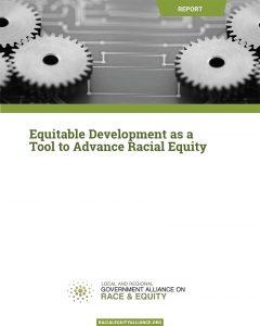 GARE Equitable Development Cover