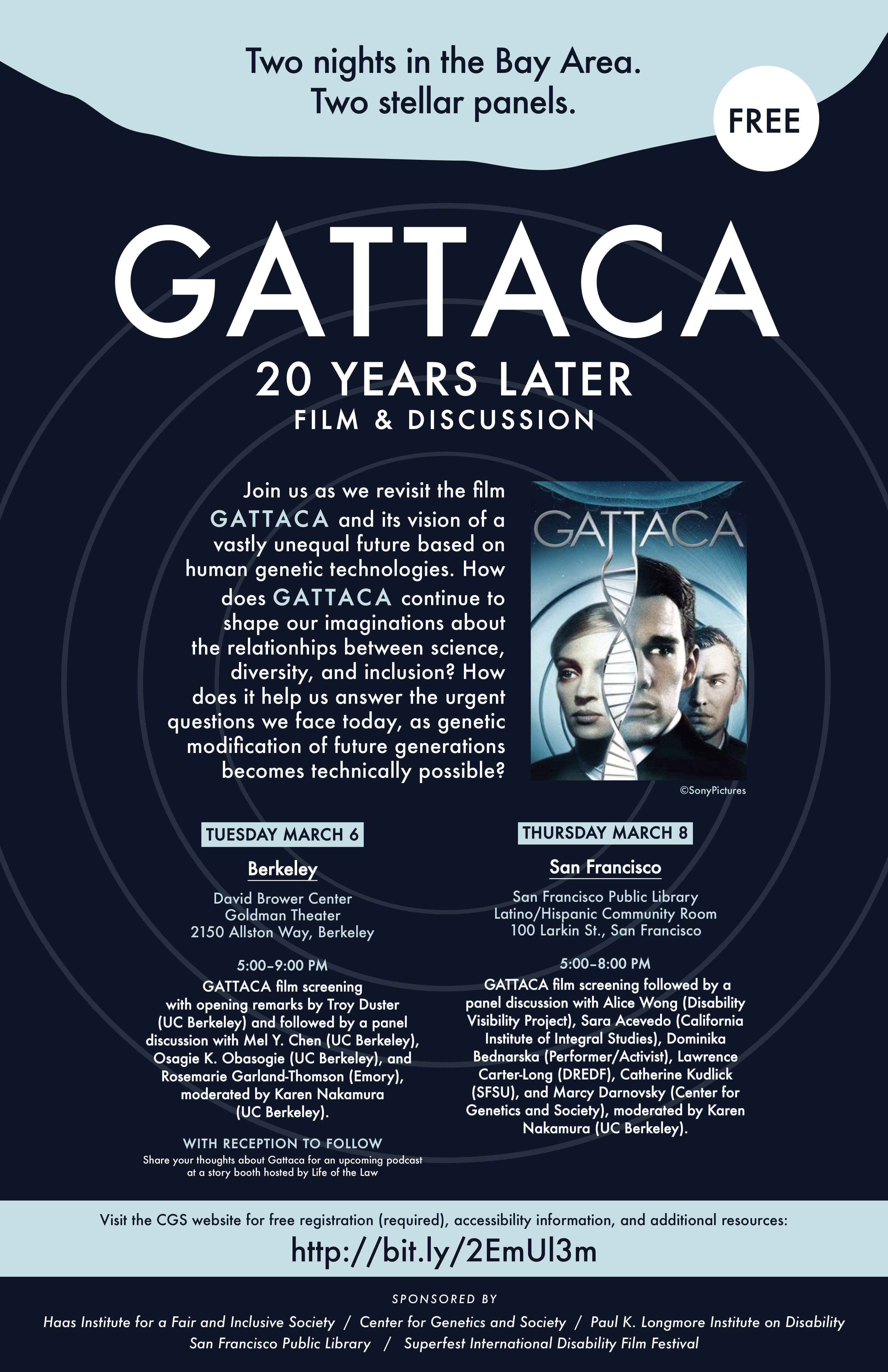 Gattaca essay questions