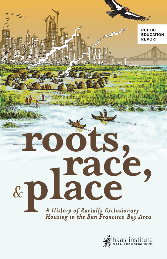 Cover of the Roots, Race, Place booklet