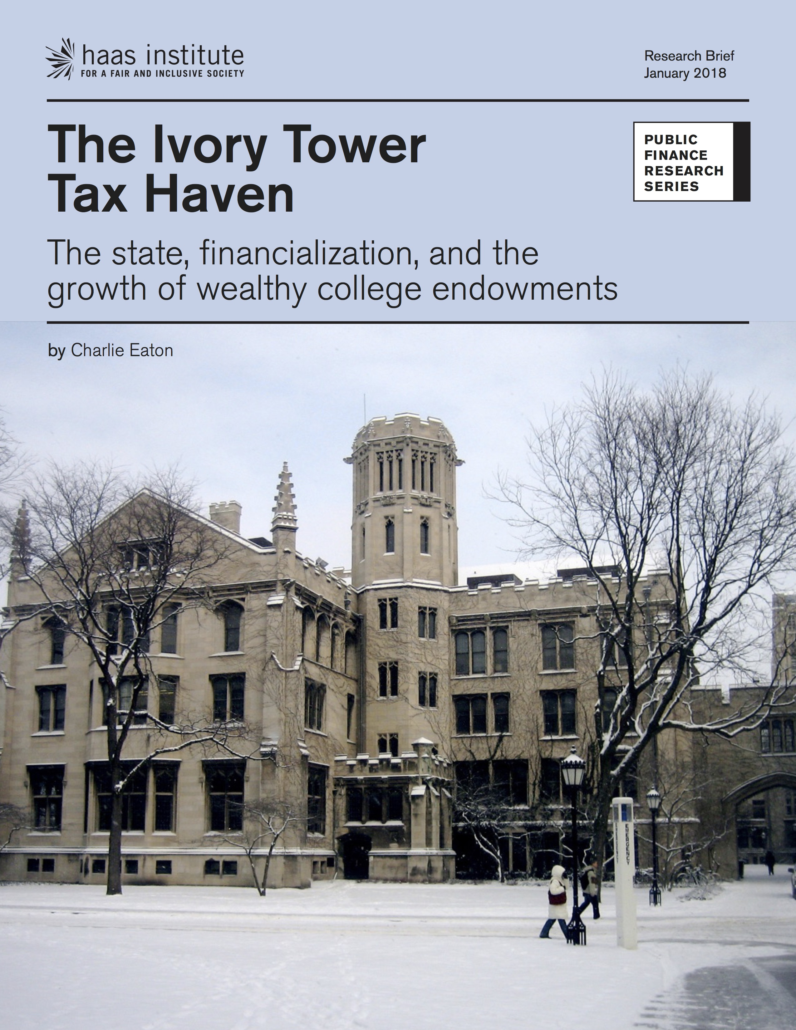 The Ivory Tower Tax Haven