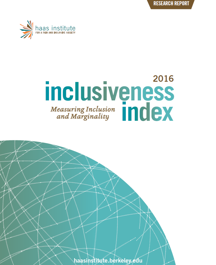 Inclusiveness Index 2016 Cover
