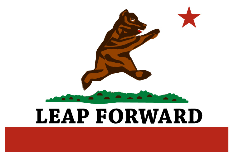Leap Forward Logo