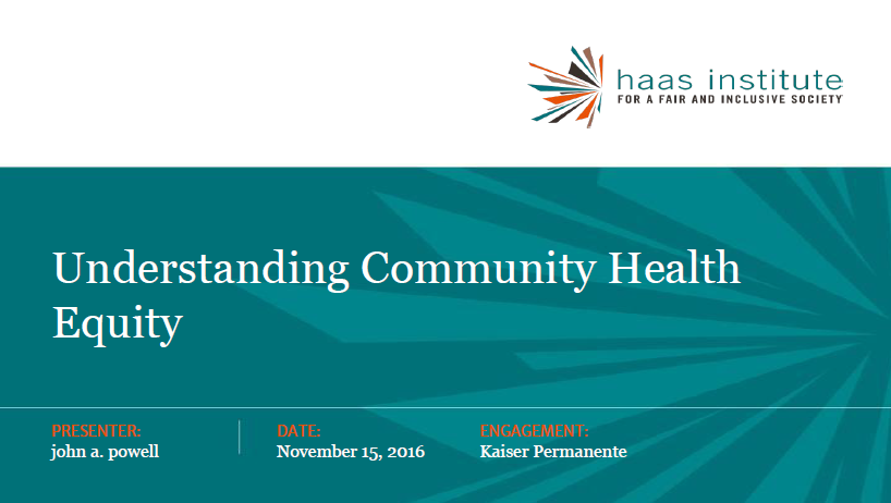 Nov 17 Kaiser Permanente Presentation