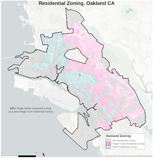 Zoning map of Oakland thumbnail