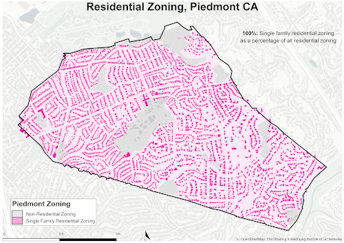 zoning map of Piedmont