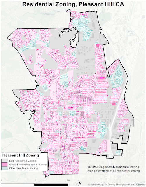 zoning map of pleasant hill