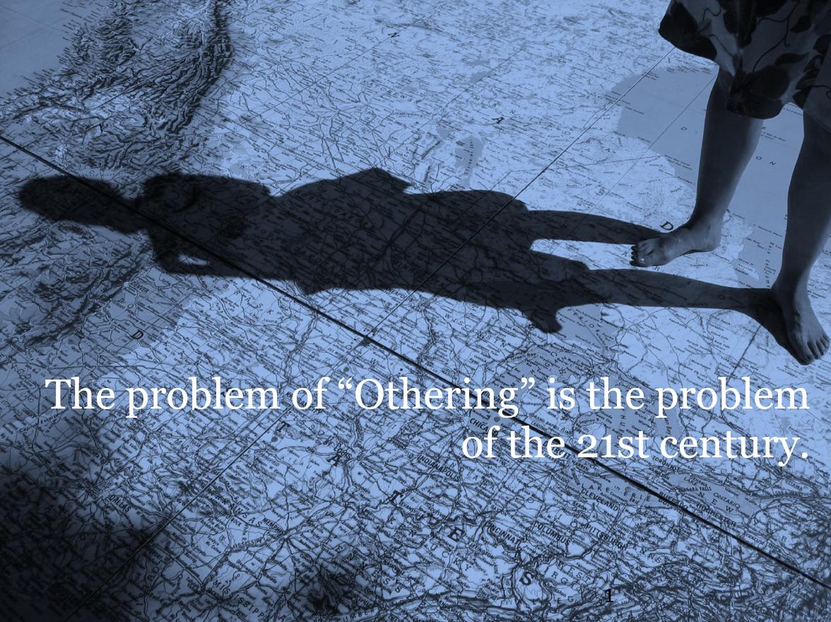 cover slide image of the problem of othering slide deck