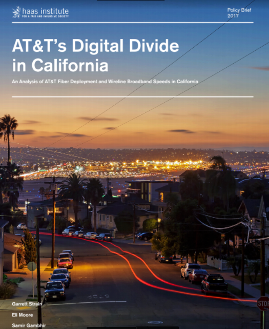 Cover of AT&T's Digital Divide