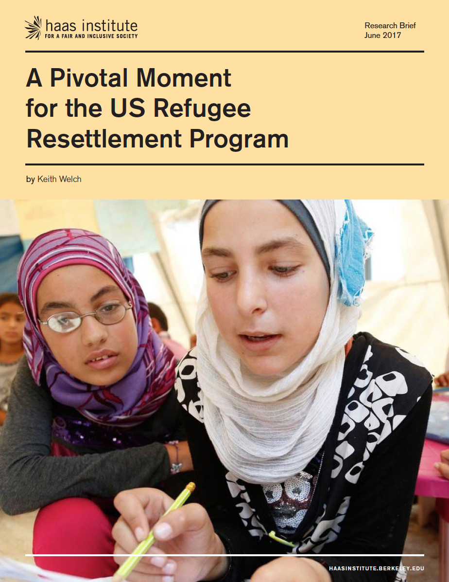 US Refugee Report cover image