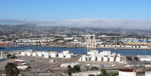 This image of the bay was taken by Rasheed Shabazz