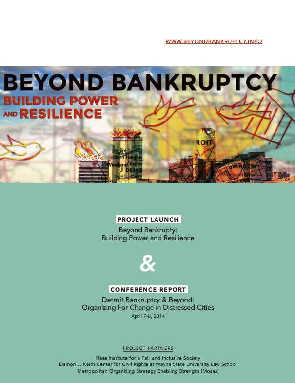 Beyond bankruptcy report