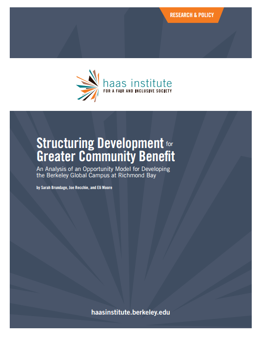 Structuring Community Benefit