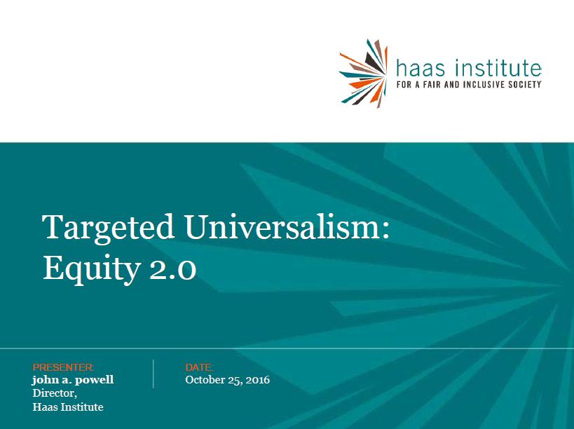 Kids Count Targeted Universalism Presentation