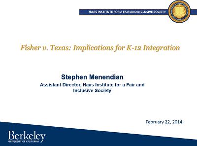 Texas v. Fisher Presentation