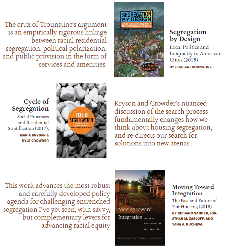 Cover images of the three books reviewed in this article