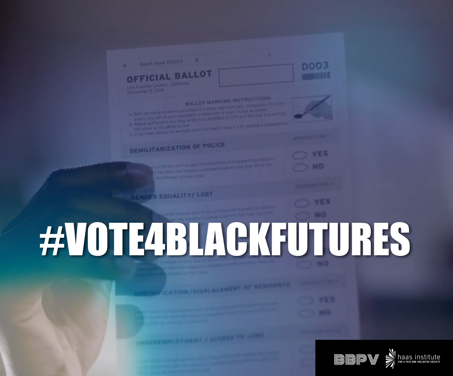 Vote 4 Black Futures Graphic 2