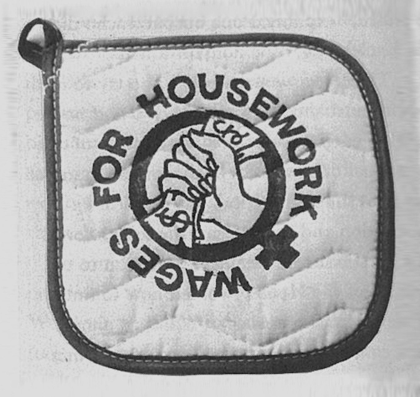 Potholder - Wages for Housework