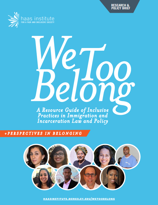 We Too Belong Report Cover